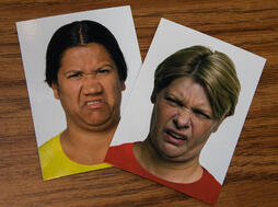 two-emotion-cards-showing-disgust