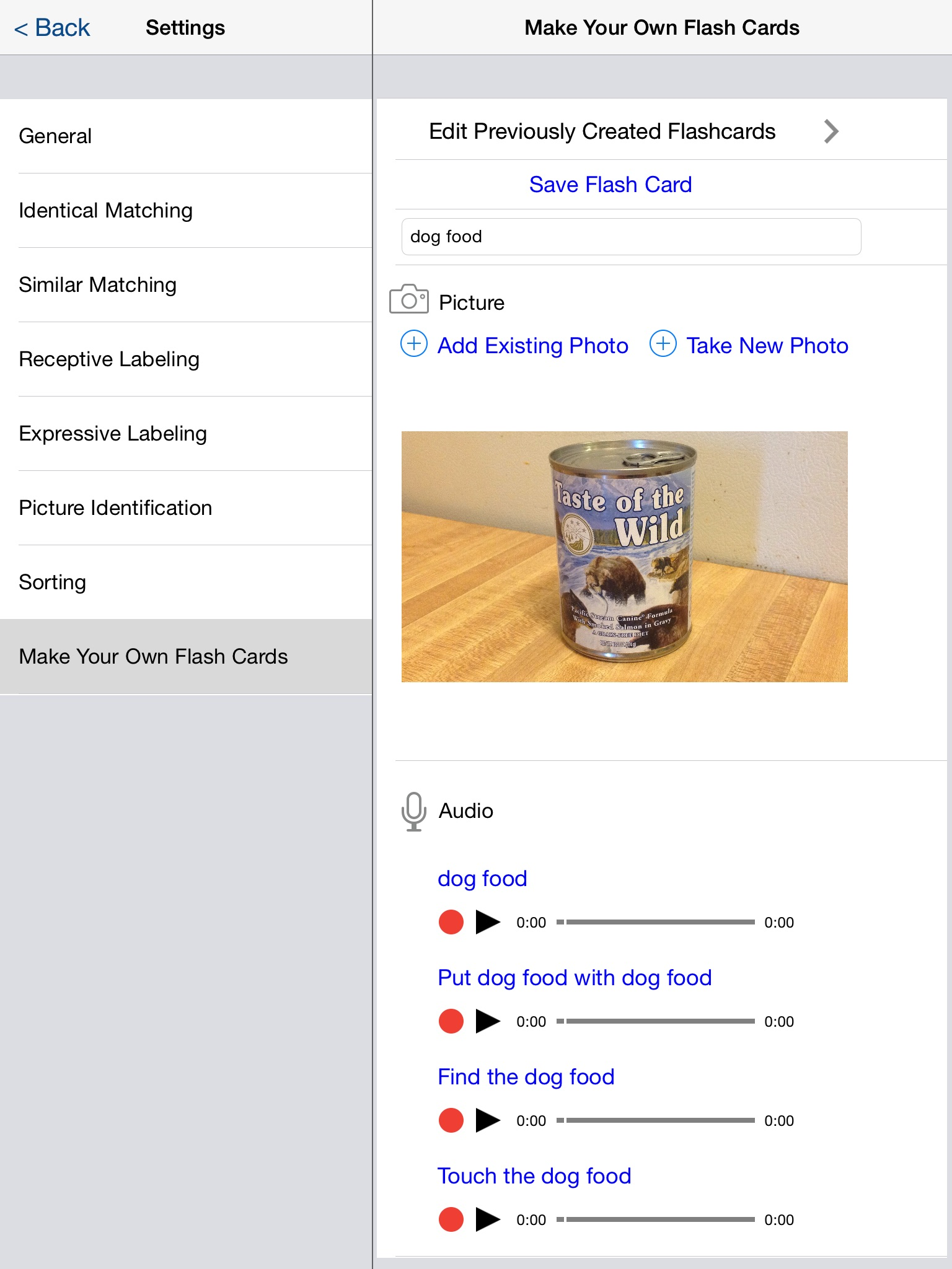 screenshot-of-make-your-own-flash-cards-picture-of-dog-food