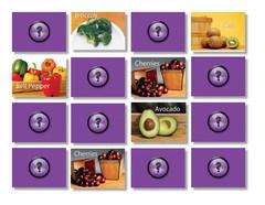 food-matching-memory-game