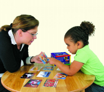 woman-with-girl-using-language-builder-cards