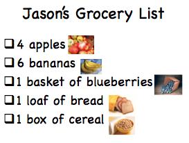 jason's-grocery-list