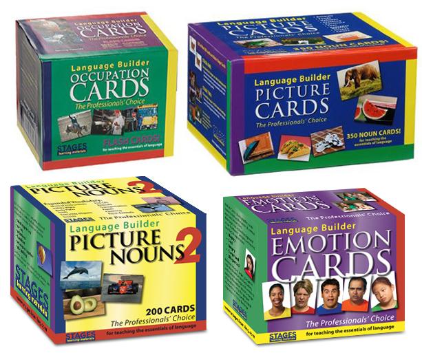 Language Builder Cards
