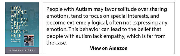 Autism grieve book on amazon large ad