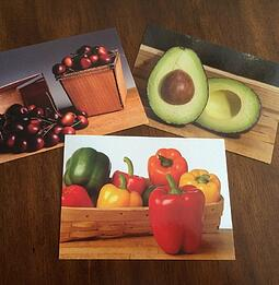 picture-noun-2-cards-cherries-avacado-peppers