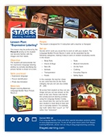 exStages Learning expressive labeling lesson plan image