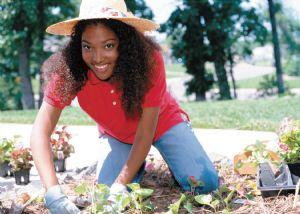 woman-gardenining-with-plants