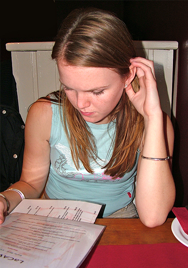 girl-reading-a-menu