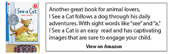 front-cover-and-description-of-I see-a-cat-book-amazon-ad
