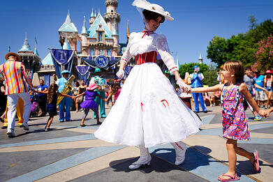child with autism at disney land