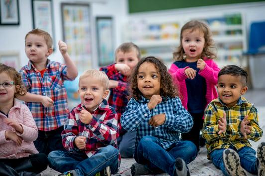children-singing-rhyming-songs