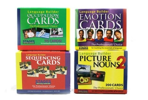 Stages Learning Language Builder Cards: The Choice for Autism Researchers