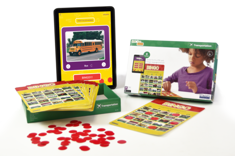 Bingo Transportation Game